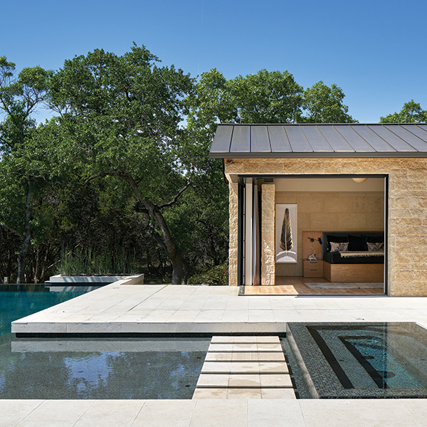 Austin indoor outdoor living