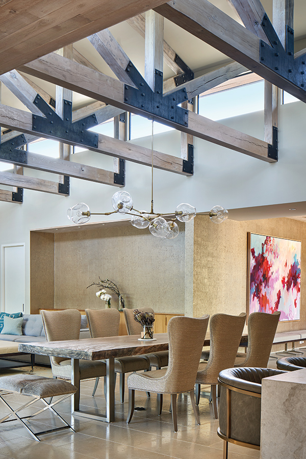 modern wood beams